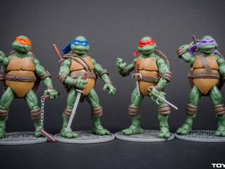 A Closer look at the Teenage Mutant Ninja Turtles Movie Edition Figures