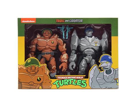 """Teenage Mutant Ninja Turtles - Trigg & Granitor 7"""" Action Figure 2-pack"""