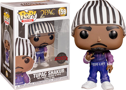 Tupac - Tupac Overalls US Exclusive Pop! Vinyl