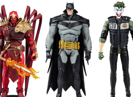 "McFarlane Toys  Batman: White Night 7"" Figures  Coming soon..."