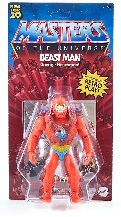 Masters of the Universe Origins Beast Man Action Figure