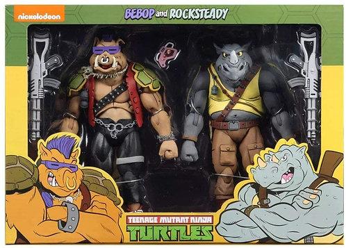 Teenage Mutant Ninja Turtles - Rocksteady & Bebop Action Figure 2-pack