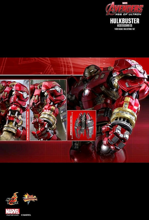 Avengers 2: Age of Ultron - Hulkbuster 1:6 Scale Action Figure Accessories Set