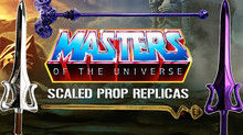 Masters Of The Universe Scaled Prop Replicas