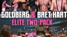 "WWE Goldberg and Bret ""Hit Man"" Hart Elite Collection 2-Pack"