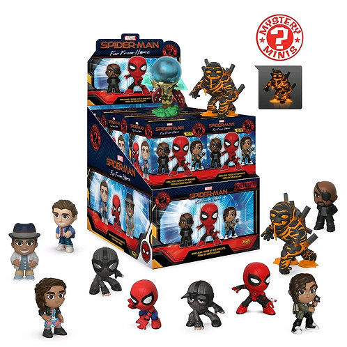 Spider-Man: Far From Home - Mystery Minis GS US Exclusive Blind Box Set of 12