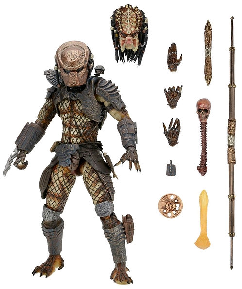 "Predator 2 - 7"" Ultimate City Hunter Figure"