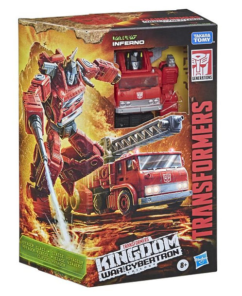 Transformers War for Cybertron: Kingdom Voyager Inferno