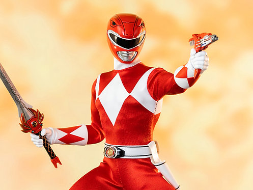 Mighty Morphin Power Rangers Red Ranger 1:6 Scale Action Figure