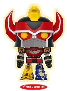"Power Rangers - Megazord Glow US Exclusive 6"" Pop! Vinyl"
