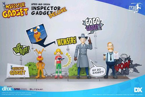Inspector Gadget - Inspector Gadget Deluxe 1:12 Scale Action Figure Set
