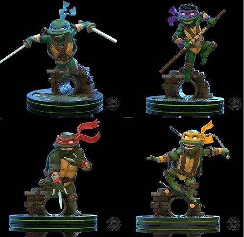 Teenage Mutant Ninja Turtles - Q-Fig (Set Of 4)
