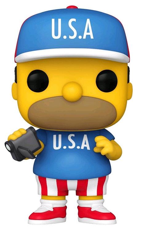 The Simpsons - Homer USA Pop! Vinyl