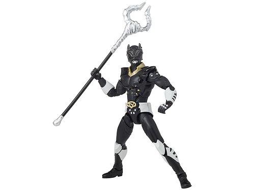 "Power Rangers in Space Legacy 6"" Psycho Black Ranger"