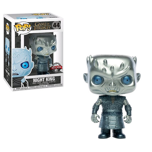 Game of Thrones - Night King Metallic US Exclusive Pop! Vinyl Wave 2