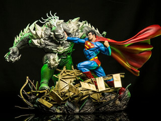 Superman - Superman Vs Doomsday 1:6 Scale Diorama