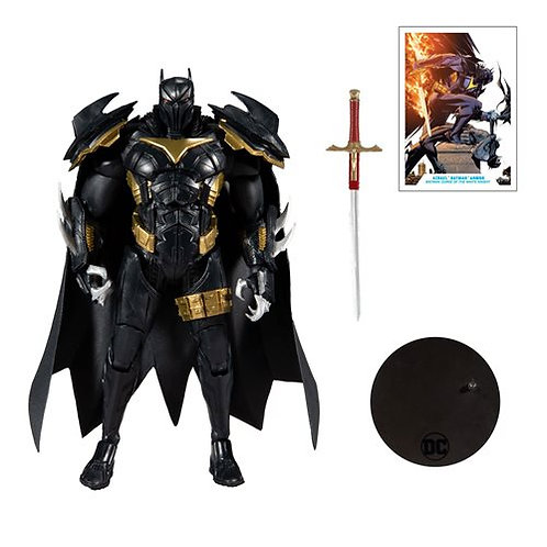 Batman: Curse of the White Knight Azrael Batman Armor Action Figure