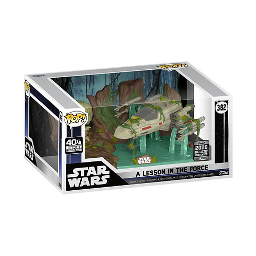 Star Wars - Yoda lifting X-Wing Star Wars Celebration US Exclusive Pop! Deluxe