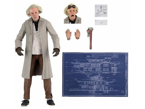 "Back to the Future - Ultimate Doc Brown 7"" Figure"