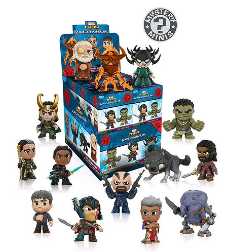 Thor 3: Ragnarok - Mystery Minis HT US Exclusive Blind Box Set Of 12