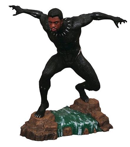 Black Panther - Black Panther Unmasked PVC Diorama