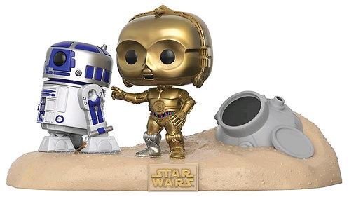 Star Wars - Escape Pod Landing Movie Moments US Exclusive Pop! Vinyl