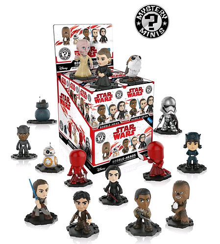 Set Of 12Star Wars - Episode VIII The Last Jedi Mystery Minis WM US Exclusive