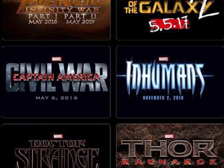Marvel Studios Announces Upcoming Release Slate Of Phase 3 Movies