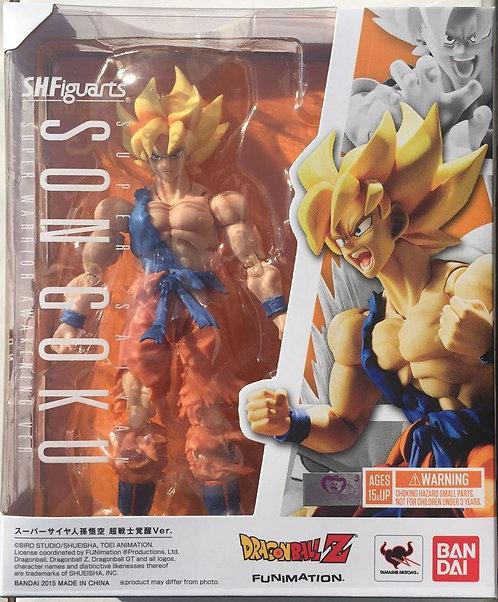 Dragon Ball Z: S.H. Figuarts - Super Saiyan Son Goku Warrior Awa