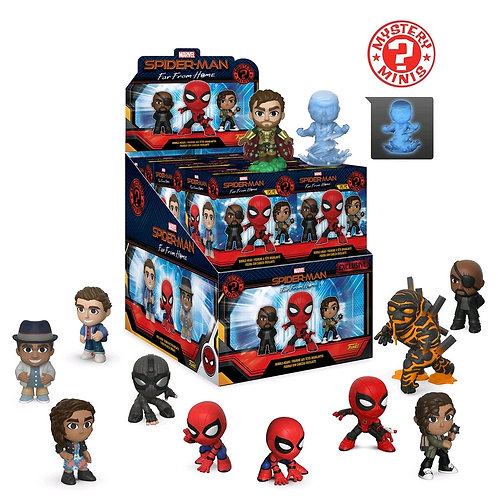 Spider-Man: Far From Home - Mystery Minis WMT US Exclusive Blind Box Set Of 12