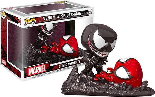 SpiderMan - SpiderMan vs Venom Comic Moment US Exclusive Pop! Vinyl