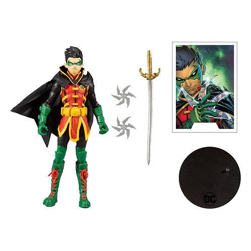 "DC Multiverse - Damien Wayne Robin 7"" Action Figure"