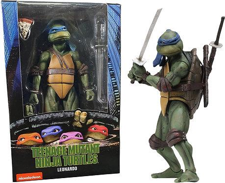 """Teenage Mutant Ninja Turtles (1990) - Leonardo 7"""" Action Figure"""
