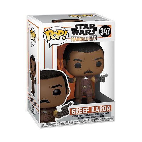 Star Wars: The Mandalorian - Greef Karga Pop! Vinyl