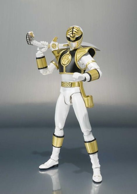 Mighty Morphin Power Rangers S.H.Figuarts White Ranger (Tommy Head Sculp