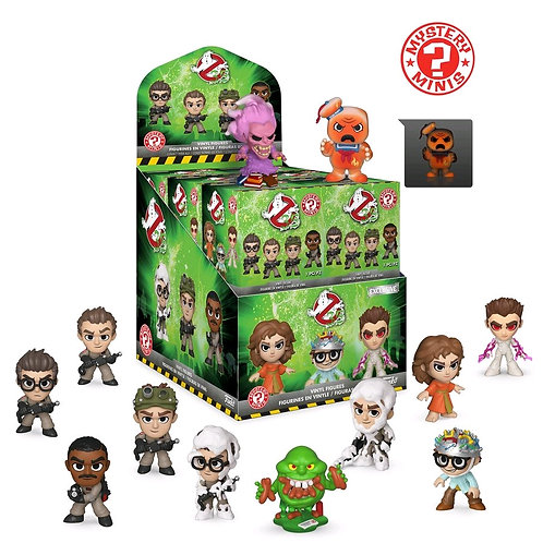 Ghostbusters - Mystery Minis GS US Exclusive Blind Box Of 12