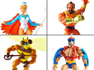 Masters of the Universe: Origins Wave 7 Images Product Revealed