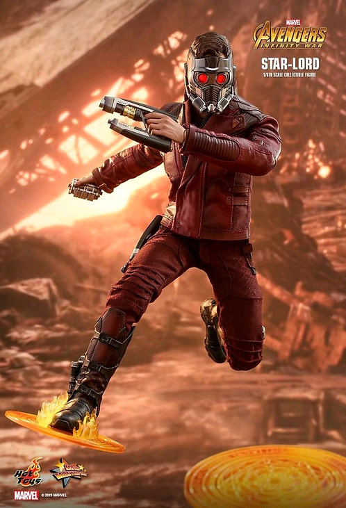 """Avengers 3: Infinity War - Star-Lord 12"""" 1:6 Scale Action Figure"""