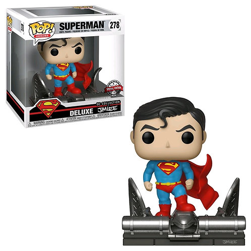Superman - Superman on Gargoyle Movie Moment US Exclusive Pop! Vinyl