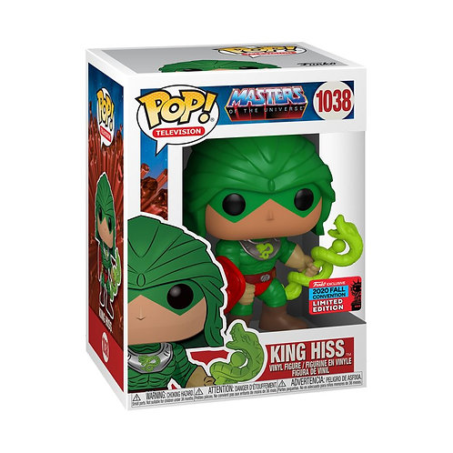 Masters of the Universe - King Hiss NYCC 2020 Exclusive