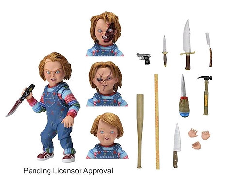 """Child's Play - Chucky 7"""" Scale Ultimate Action Figure"""