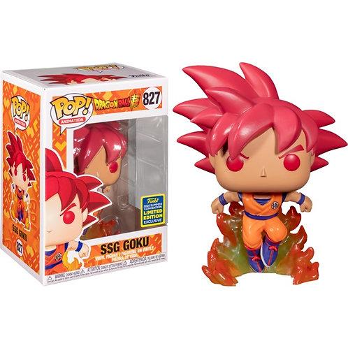 Dragon Ball Super - Super Saiyan God Goku SDCC 2020 Exclusive pop
