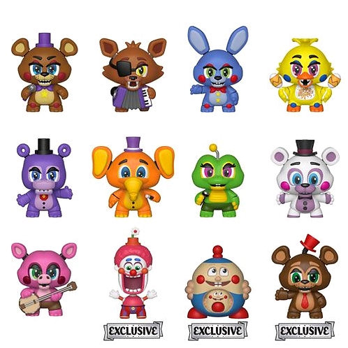 Five Nights at Freddy's: Pizza Sim - Mystery Minis TAR US Exclusive Blind Box