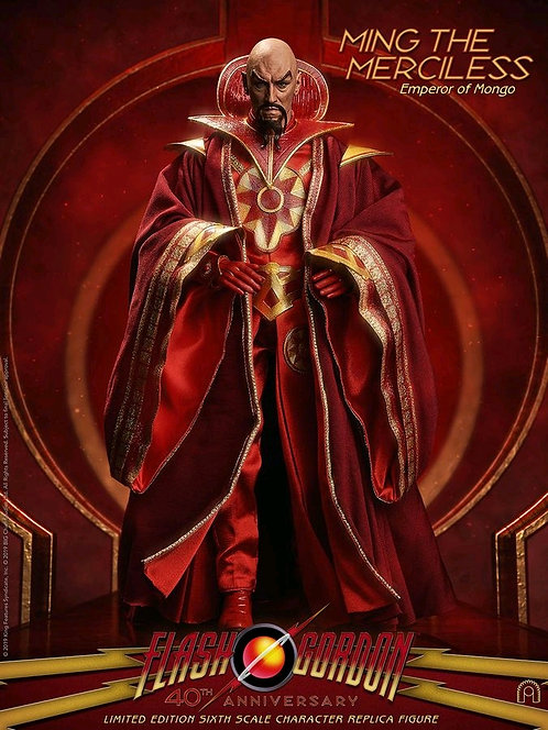 "Flash Gordon - Ming the Merciless 12"" Action Figure"