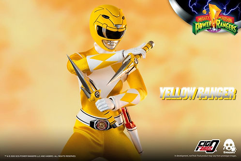 Mighty Morphin Power Rangers Yellow Ranger 1:6 Scale Action Figure