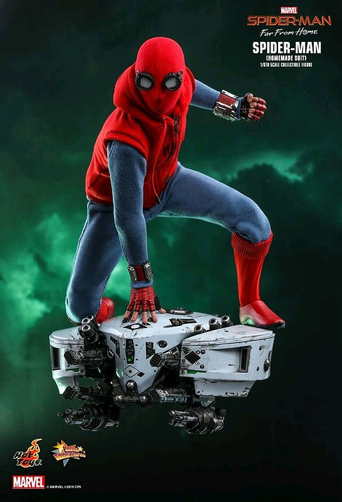 Spider-Man: Far From Home - Spider-Man Homemade Suit 1:6 Scale Figure