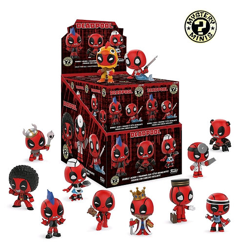 Deadpool - Playtime Mystery Minis Blind Box