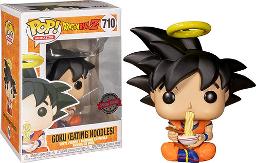 Dragon Ball Z - Goku Eating Noodles US Exclusive Pop! Vinyl