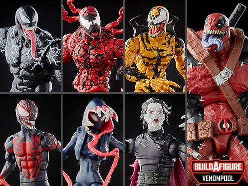 Venom Marvel Legends Wave 2 Set of 6 Figures (Venompool BAF)