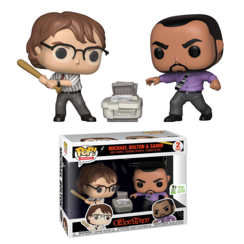 Pop! Movies: Office Space – Michael Bolton & Samir
